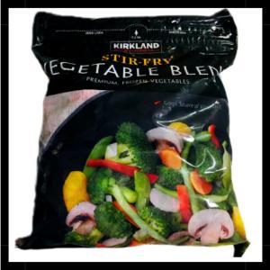 【コストコ失敗しない商品選び】ステアフライベジタブルは9種類の冷凍野菜が