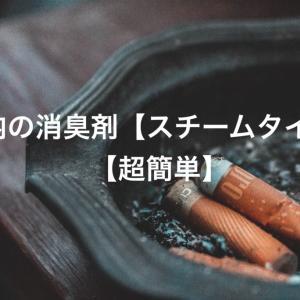 車内の消臭剤【スチームタイプ】【超簡単】