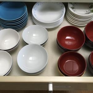 食器の種類を絞るとラクになる