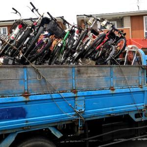 中古自転車輸出。なかなか厳しそう。。。