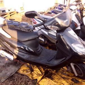 ナイジェリアのバイヤーさん、バイクの買い付けに。
