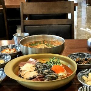 海鮮物いっぱいの韓国料理《물회(ムルフェ)》