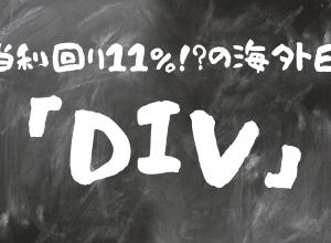 【海外ETF】DIV:グローバルX スーパーディビィデンド-米国低ベータ ETF