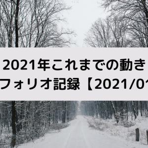 2021年これまでの動き/ポートフォリオ記録【2021/01/17】