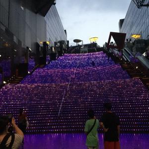 京都駅ライトアップ