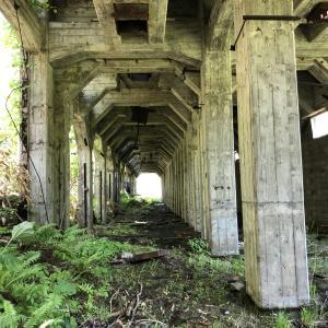 羽幌炭鉱遺構