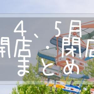 大田区(大森・蒲田) 2021年4、5月の開店・閉店情報まとめ