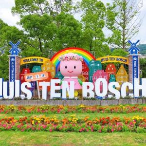 【旅行記】見ごろを過ぎた頃に行った5月のバラ祭・ハウステンボス①