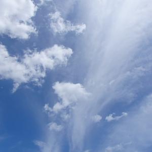 青い空を眺めるのはいい