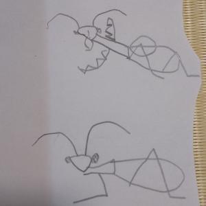 6歳の長男に絵のアドバイスをしたのですが。。。