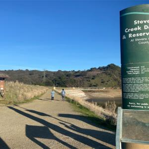 スティーブンス・クリーク(Stevens Creek)貯水池散策