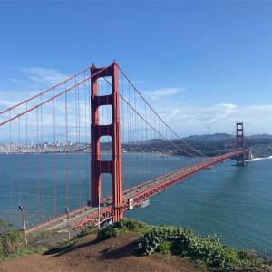 SF湾一周旅行(ミシュランランチ&ブリッジ観光)