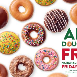 【明日6/4】ドーナツの日 無料キャンペーン