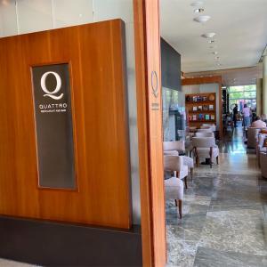 ホテル内レストランでゆったりランチ【Four Seasons Hotel Palo Alto】