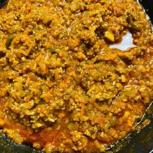 【節約レシピ】トマトジュースをつかって作るミートソース