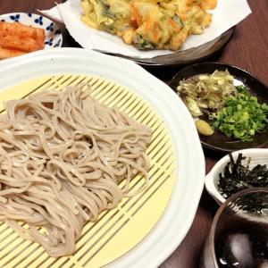 『秋蕎麦・かき揚げ天麩羅』作ってみたぁぁ~~。By yu→