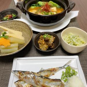 おうちごはん~めざしのような・・・秋刀魚