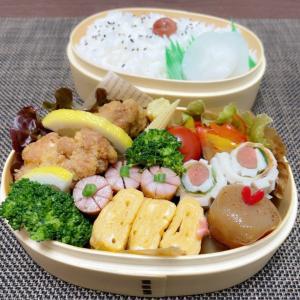 今日のお弁当~ダブル記念日