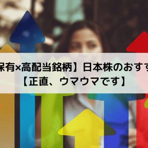 【長期保有×高配当銘柄】日本株のおすすめ5選【正直、ウマウマです】