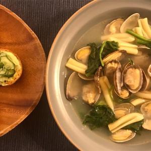 スープとブルスケッタ