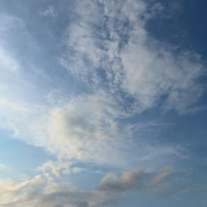 今日の雲 「タイミング」