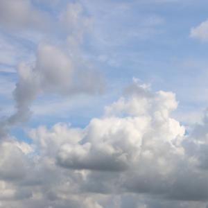 今日の雲 「どっちなのかな」