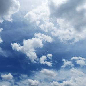 今日の雲 「ひみつ道具」