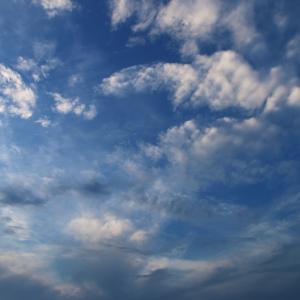 今日の雲 「七夕」