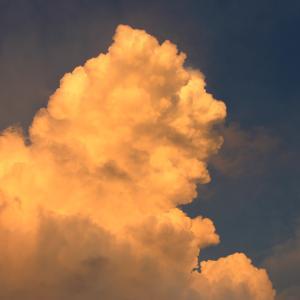 今日の雲 「雨上がり」