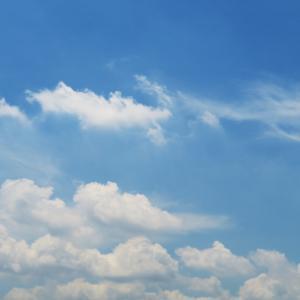 今日の雲 「早く終わってほしい」