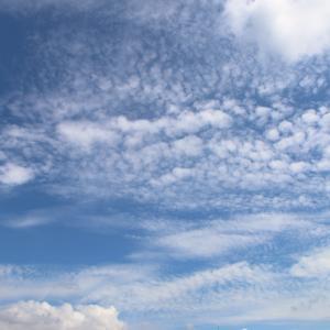 今日の雲 「開会式」