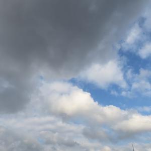 今日の雲 「要警戒」