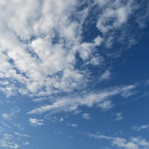 今日の雲 「調整失敗」