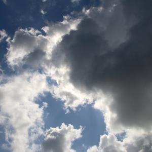 今日の雲 「アクションカメラ」