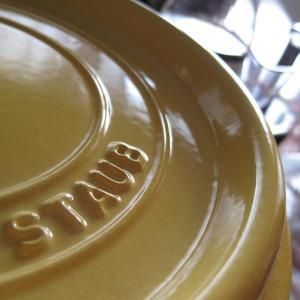 STAUB(ストウブ)で、手羽元の甘酢煮♪