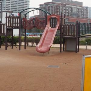 2/1~豊洲六丁目第二公園の遊具広場で工事が行われます