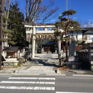 諏訪市小和田の風景 ~八剣神社周辺~
