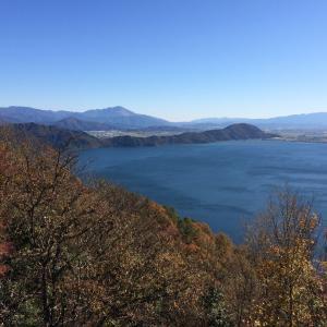 琵琶湖の景色(2020年11月23日・長浜市)