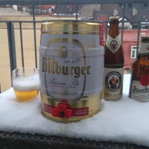 家でビール飲み放題という夢の実現(ドイツ・ミュンヘン)