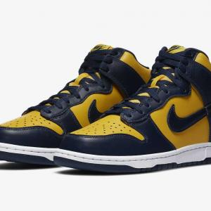 "【9/23発売】NIKE DUNK HIGH ""MICHIGAN"""