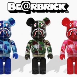 【9/26発売】A BATHING APE® × BE@RBRICK 100%&400%/1000%