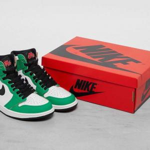 【10/15発売】NIKE AIR JORDAN 1 HIGH OG LUCKY GREEN/WHITE-SAIL-BLACK
