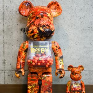 【24日~発売】MY FIRST BE@RBRICK B@BY AUTUMN LEAVES ver. 100% & 400%/1000%