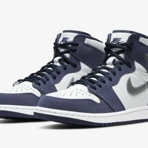 "【10/23発売】NIKE AIR JORDAN 1 HIGH OG CO.JP ""WHITE/MIDNIGHT NAVY"""