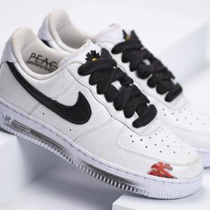 "【11/25発売】PEACEMINUSONE × NIKE AIR FORCE 1 ""PARA NOISE WHITE/BLACK"""