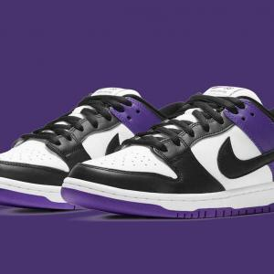 "【1/1発売】NIKE SB DUNK LOW ""COURT PURPLE"""