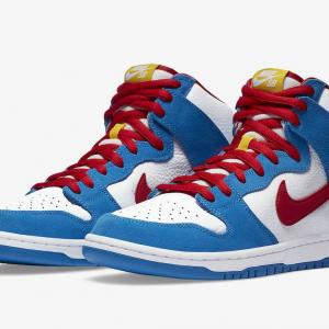 "【再販】NIKE SB DUNK HIGH ""DORAEMON"""