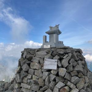 1泊2日で奥穂高岳でテント泊したら最高でした。