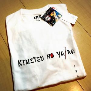 【鬼滅の刃】UNIQLOコラボ!!Tシャツゲット!!部屋着として使います!!