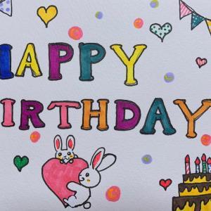 あなたが生まれた今日に、ありったけの思いを込めて。お誕生日おめでとう♡ᵕ̈*⑅୨୧˚
